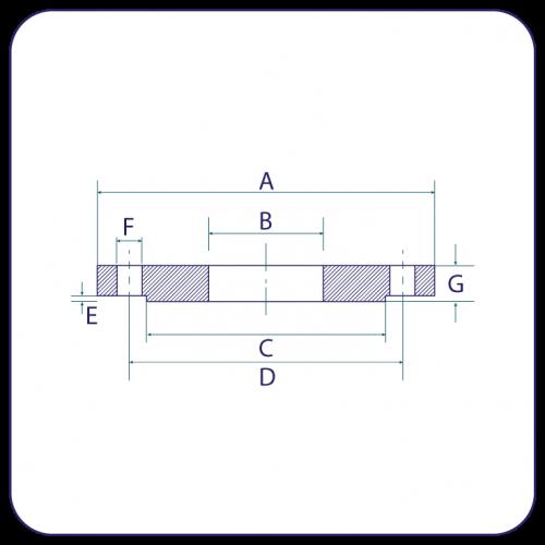 Flanges - PN16 to EN1092-1
